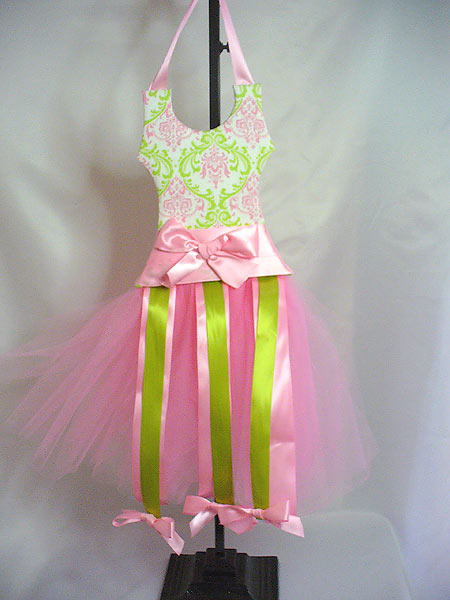 Isabella in Pink/Green Fabric TuTu Hair Bow Holder-tutu, hair bow holder, hair bows, hair bow holders, tutu, tooth fairy pillows, headbands, pendants, charms, hairbow, hairbow holder, barrette holder, personalize hair bow holder, hairbows, ballerina bow holder, ballet bow holder, animal print bow holder, tooth pillow, party hats, birthday party hat, 1st birthday party hat, 1st birthday