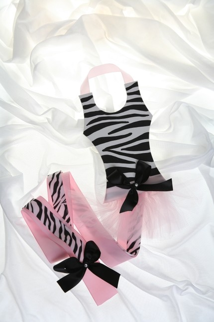Zebra Handpainted Tutu Hair Bow Holder-tutu, hair bow holder, hair bows, hair bow holders, tutu, tooth fairy pillows, headbands, pendants, charms, hairbow, hairbow holder, barrette holder, personalize hair bow holder, hairbows, ballerina bow holder, ballet bow holder, animal print bow holder, tooth pillow, party hats, birthday party hat, 1st birthday party hat, 1st birthday