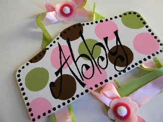 Plaque Hair Bow Holders Abby-plaque hair bow holder, hair bows, hair bow holders, tutu, tooth fairy pillows, headbands, pendants, charms, hairbow, hairbow holder, barrette holder, personalize hair bow holder, hairbows, ballerina bow holder, ballet bow holder, animal print bow holder, tooth pillow, party hats, birthday party hat, 1st birthday party hat, 1st birthday