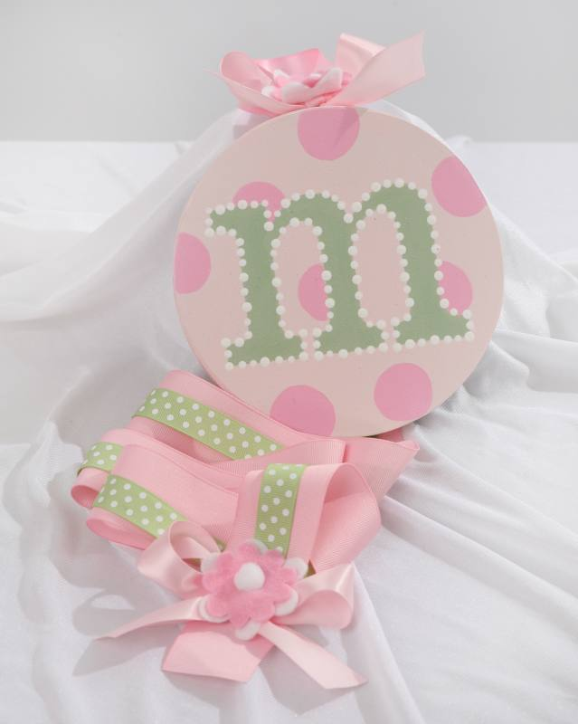 Pink with Sage Green Initial Hair Bow Holder-hair bow holder, hair bows, hair bow holders, tutu, tooth fairy pillows, headbands, pendants, charms, hairbow, hairbow holder, barrette holder, personalize hair bow holder, hairbows, ballerina bow holder, ballet bow holder, animal print bow holder, tooth pillow, party hats, birthday party hat, 1st birthday party hat, 1st birthday