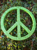 Glitter Peace Sign Wall Decor-children's wall decor
