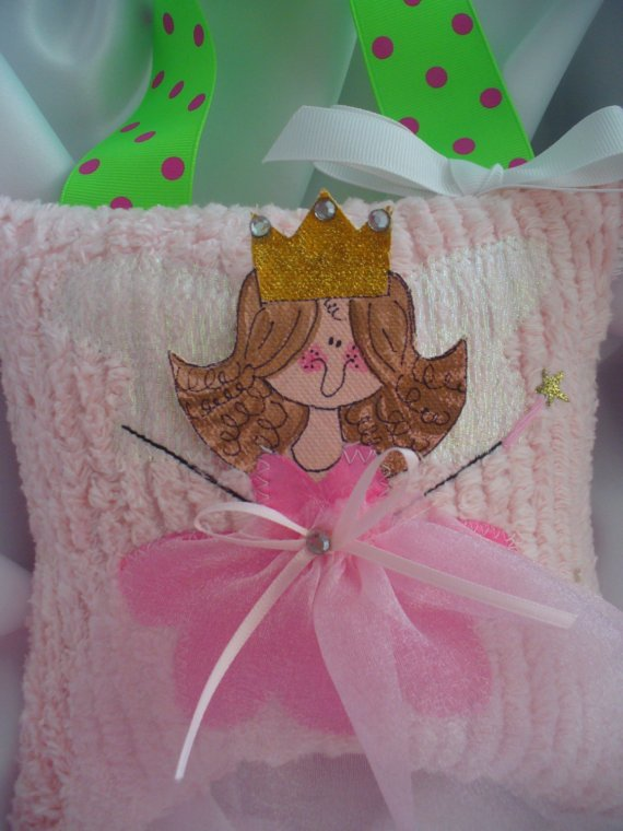Girls Tooth Fairy Pillows with Hand Painted Faces - Wholesale Lot of 8-Girls tooth fairy pillows, hair bows, hair bow holders, tutu, tooth fairy pillows, headbands, pendants, charms, hairbow, hairbow holder, barrette holder, personalize hair bow holder, hairbows, ballerina bow holder, ballet bow holder, animal print bow holder, tooth pillow, party hats, birthday party hat, 1st birthday party hat, 1st birthday