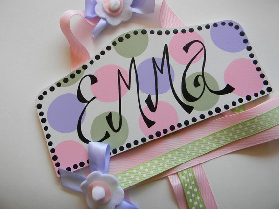 Plaque Hair Bow Holders Emma-plaque hair bow holder, hair bows, hair bow holders, tutu, tooth fairy pillows, headbands, pendants, charms, hairbow, hairbow holder, barrette holder, personalize hair bow holder, hairbows, ballerina bow holder, ballet bow holder, animal print bow holder, tooth pillow, party hats, birthday party hat, 1st birthday party hat, 1st birthday