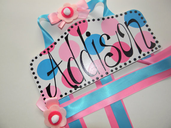 Plaque Hair Bow Holders Addison-plaque hair bow holder, hair bows, hair bow holders, tutu, tooth fairy pillows, headbands, pendants, charms, hairbow, hairbow holder, barrette holder, personalize hair bow holder, hairbows, ballerina bow holder, ballet bow holder, animal print bow holder, tooth pillow, party hats, birthday party hat, 1st birthday party hat, 1st birthday