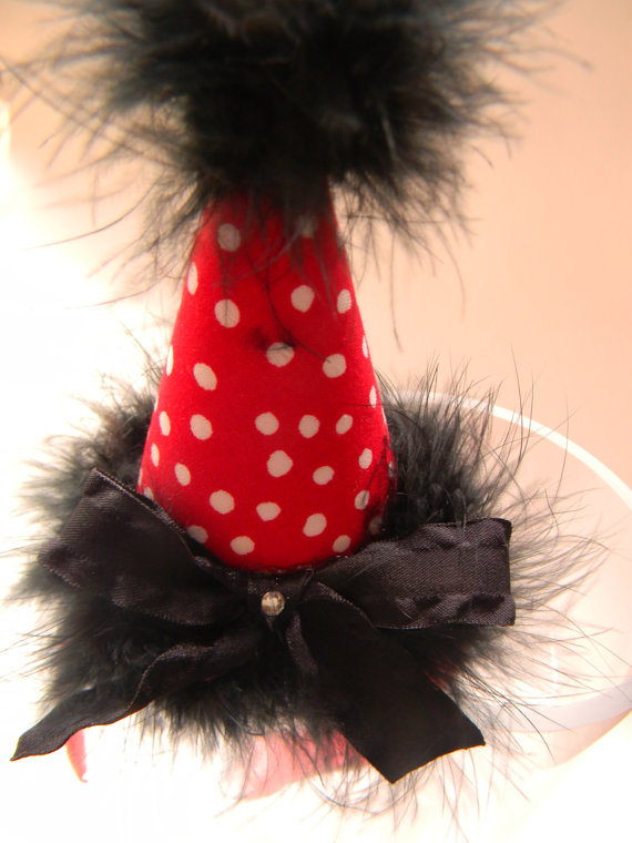 Headband Minnie/Mickey Mouse Type Party Hat-birthday party hats