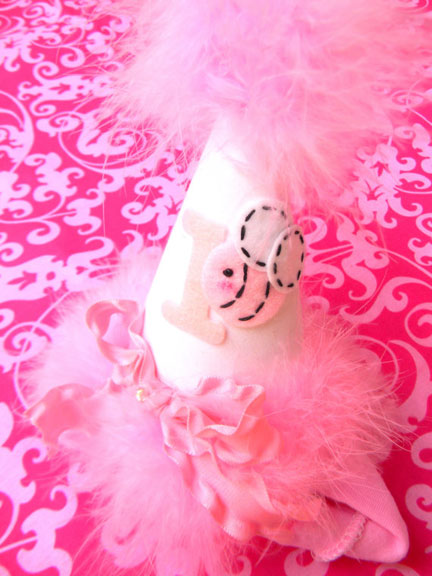 Head Band Birthday Party Hat UPGRADE-birthday party hats, hair bows, hair bow holders, tutu, tooth fairy pillows, headbands, pendants, charms, hairbow, hairbow holder, barrette holder, personalize hair bow holder, hairbows, ballerina bow holder, ballet bow holder, animal print bow holder, tooth pillow, party hats, birthday party hat, 1st birthday party hat, 1st birthday